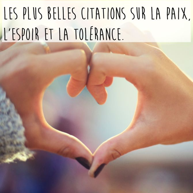 Citations sur la paix