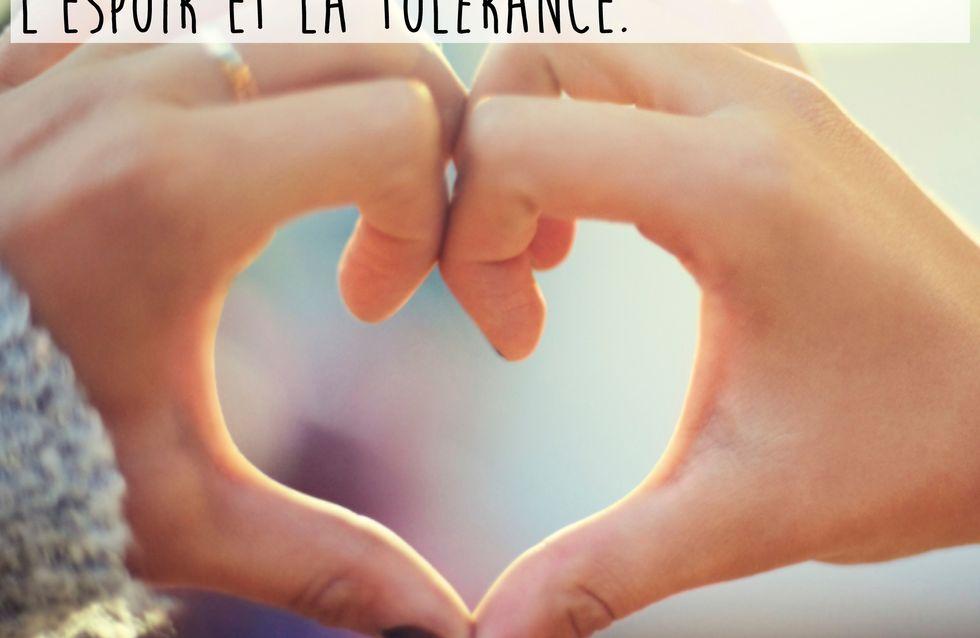 Les plus belles citations sur la paix, l'espoir et la tolérance