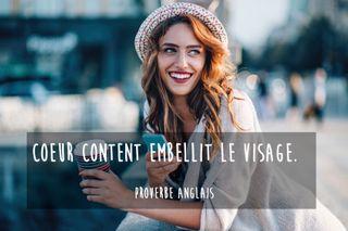 Proverbe anglais sourire