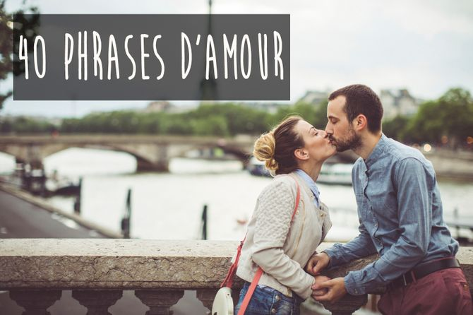 40 phrases d'amour
