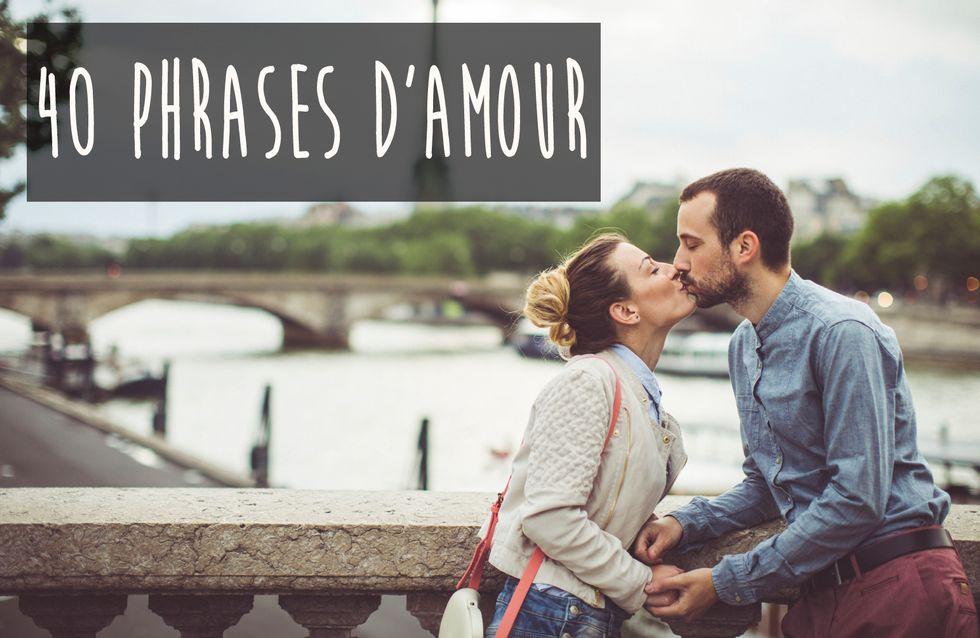 40 Belles Phrases Damour Pour Laimer Comme Au Premier Jour