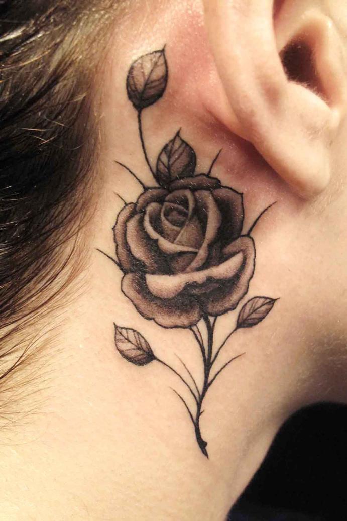 Tatouage Rose 50 Modeles De Tatouages De Rose Pour S 039 Inspirer