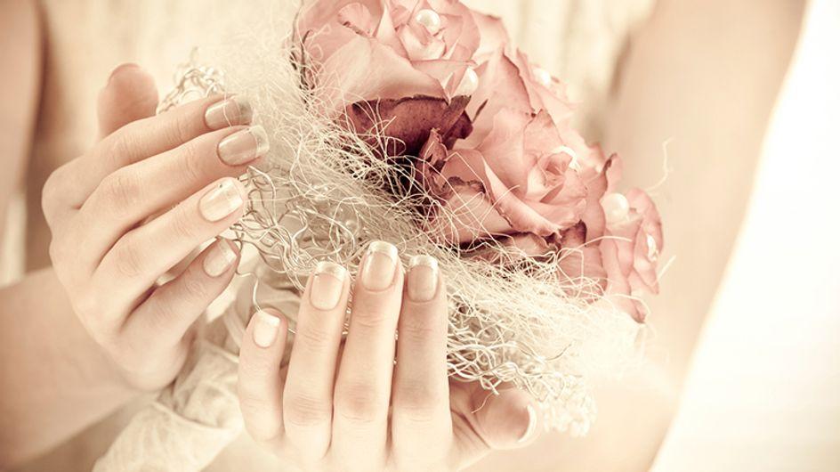Esmaltes para noivas clássicas: +20 sugestões para usar no dia do casamento