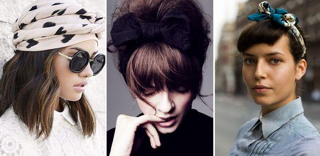 Peinados con bandana. Mil y un formas de llevar el accesorio de moda