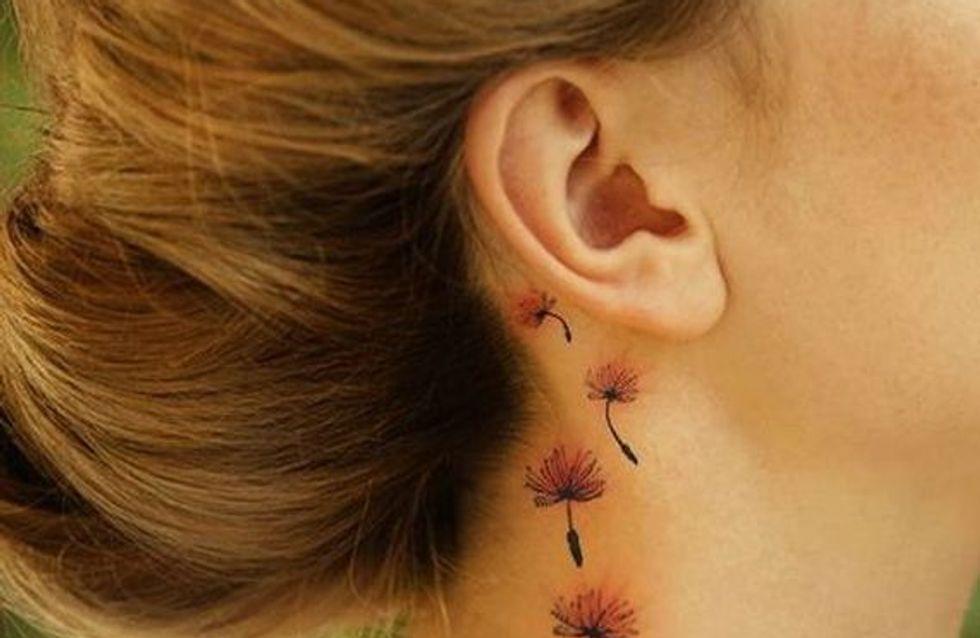 Tatuajes de flores, ¡que la primavera nunca abandone tu piel!