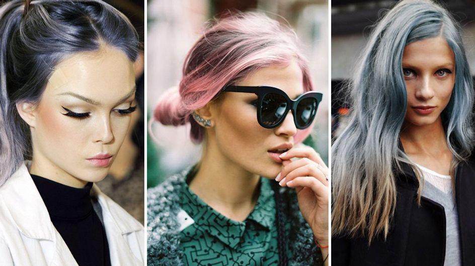 Rosa quarzo e blue serenity: i capelli ispirati ai colori Pantone del 2016