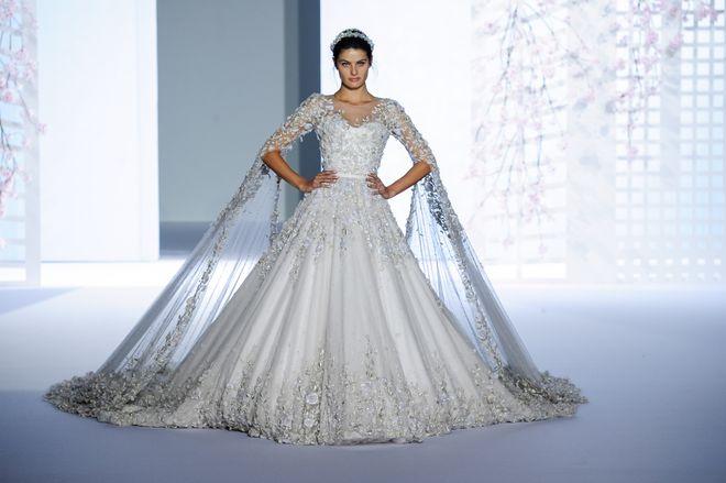 Robe de mariée Ralf & Russo Haute Couture printemps-été 2016