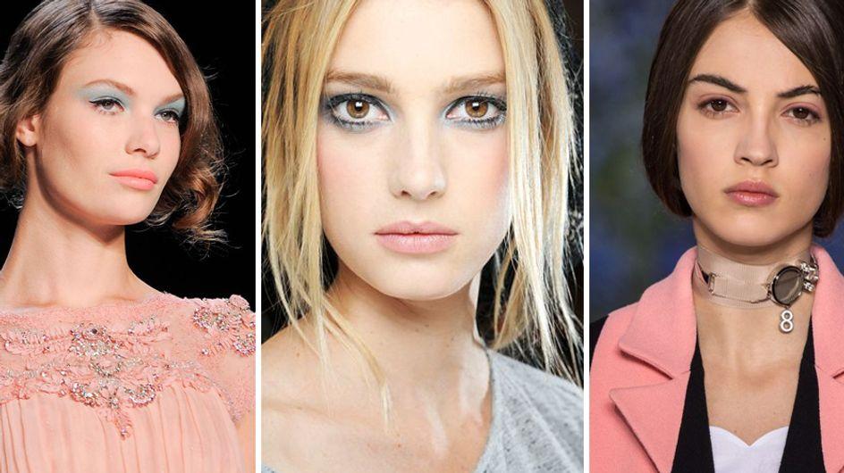 Make-up rosa quarzo e blu serenity: il trucco ispirato ai colori Pantone 2016