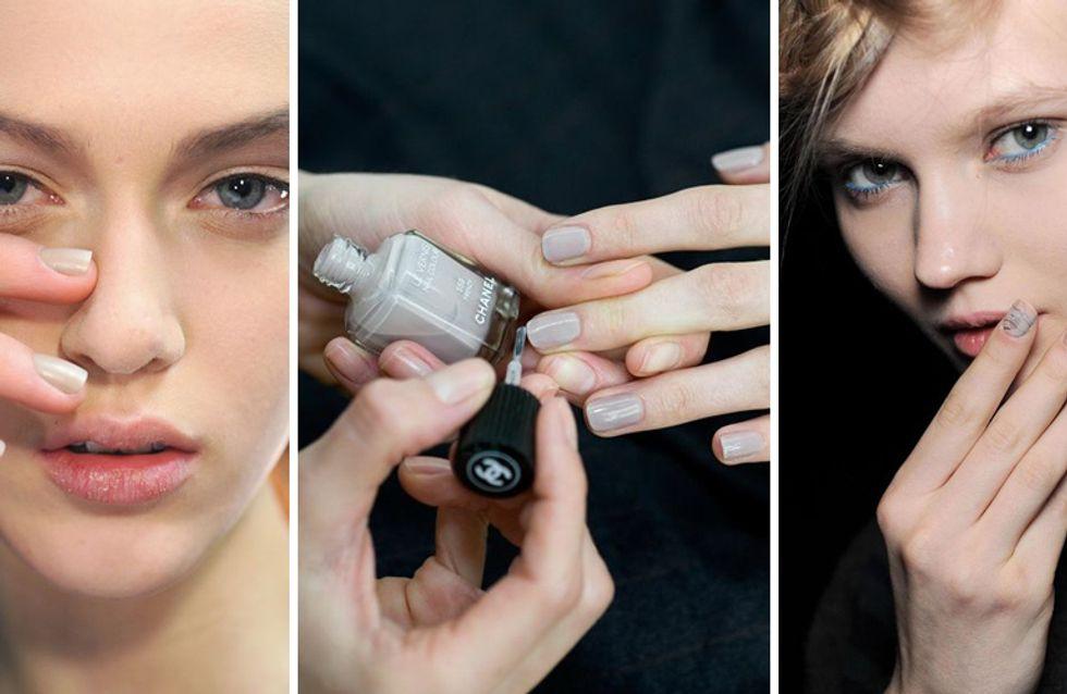 Smalto greige: la nuova versione della manicure nude destinata a fare tendenza!