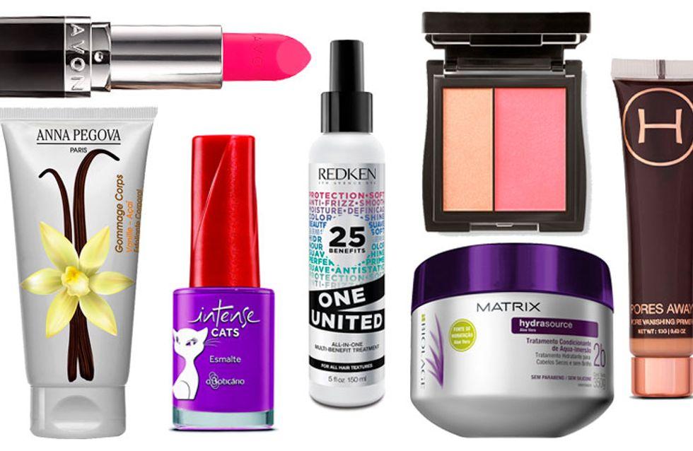 Fevereiro: os melhores lançamentos para pele, cabelo & unhas do mês