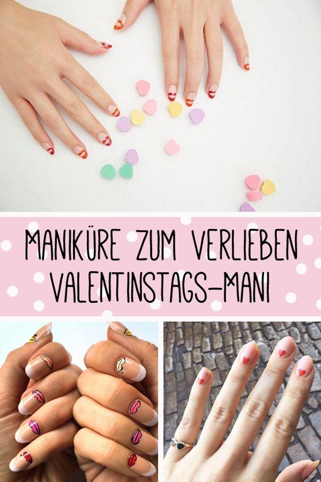 Mehr als 50 romantische Liebeserklärungen an eure Nägel