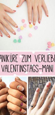 Maniküre zum Verlieben: Über 50 romantische Liebeserklärungen an eure Nägel