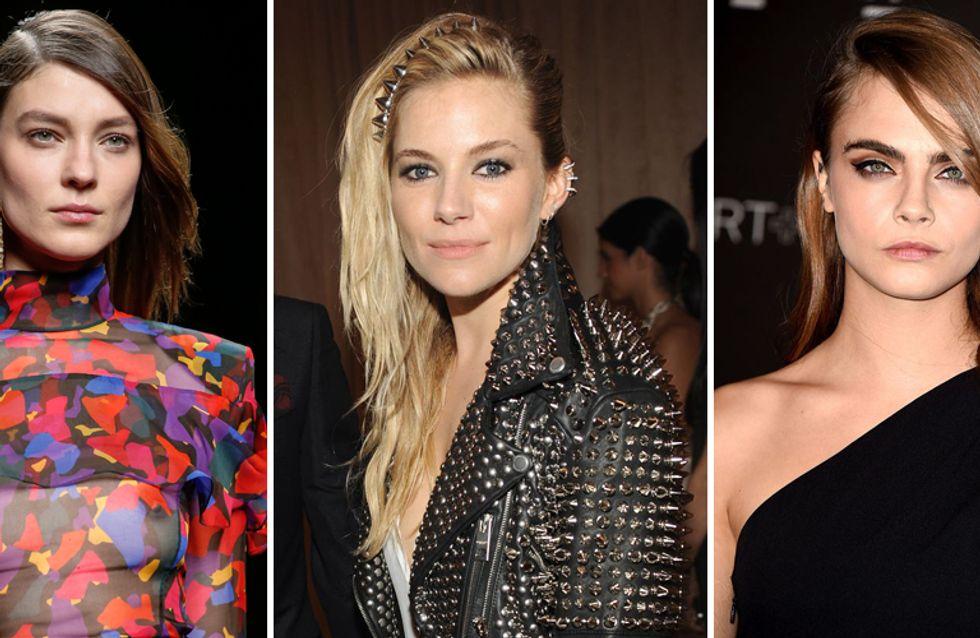 Glam, sensuale e retrò: ecco la tendenza capelli side swept. Scopri di più!