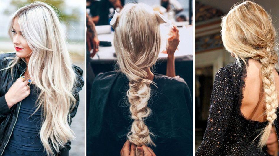 La schiaritura dei capelli color ghiaccio: ecco il trend mermicorn hair!