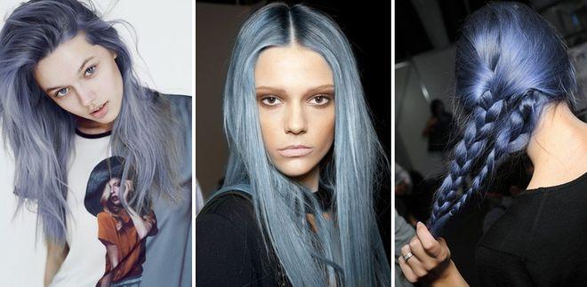 Denim hair: scopri il nuovo trend dei capelli color jeans!