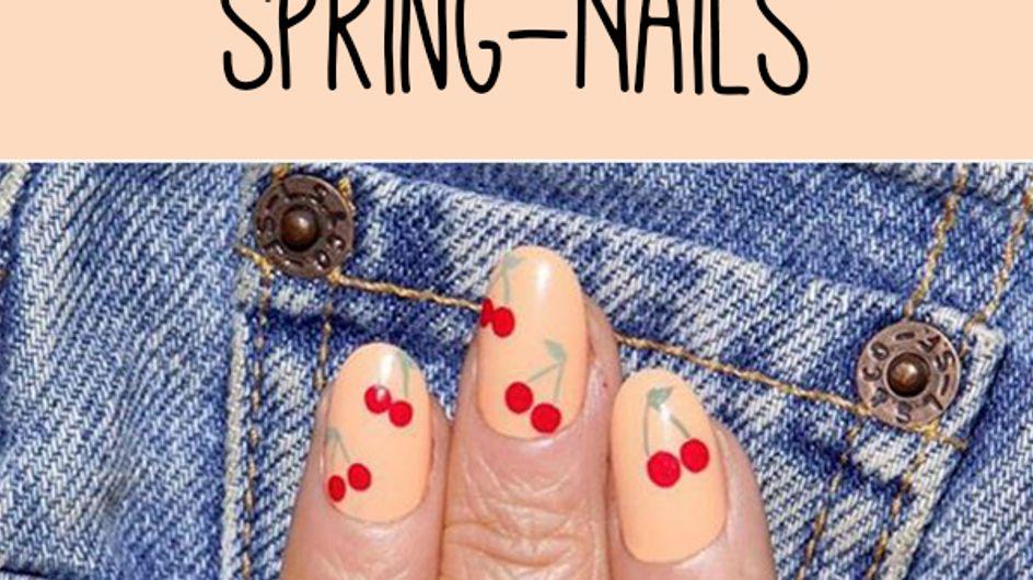Go Spring! 50 zauberhafte Frühlingsmotive für eure Nägel
