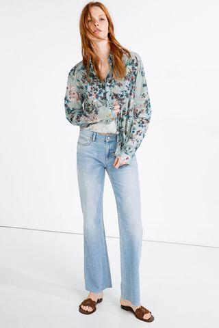 Le jean droit Zara