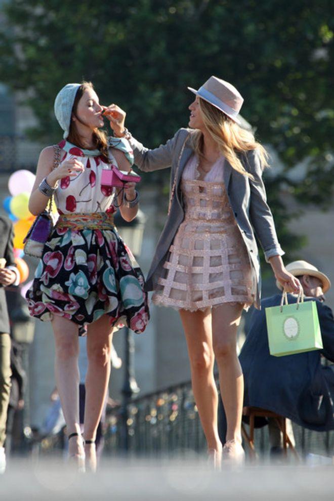 Como seria uma semana de moda à la Gossip Girl?