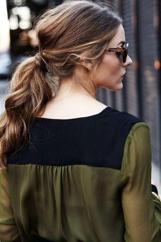 Penteados para disfarçar o aspecto oleoso dos fios