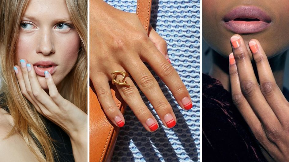 Negative space manicure: la tendenza unghie minimal chic che conquisterà tutte!