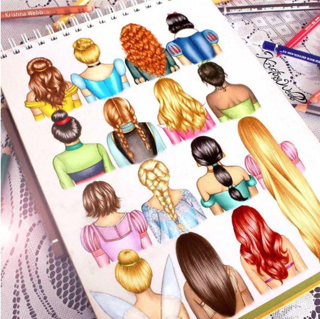 Penteados inspirados nas princesas da Disney