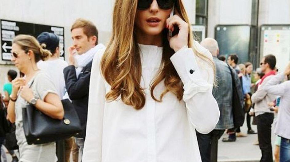 Provas de que Olivia Palermo é a rainha do street style no Pinterest