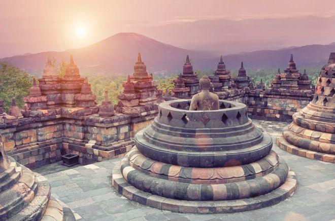 El templo Borobudur, Indonesia - Los 101 monumentos más famosos del mundo