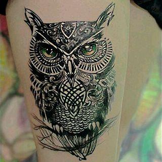 Tatuajes De Buhos Foto Enfemenino