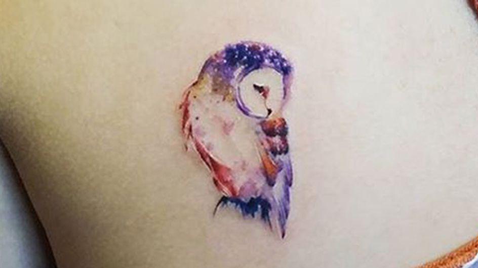 30 tatuajes de búhos que querrás lucir en tu piel