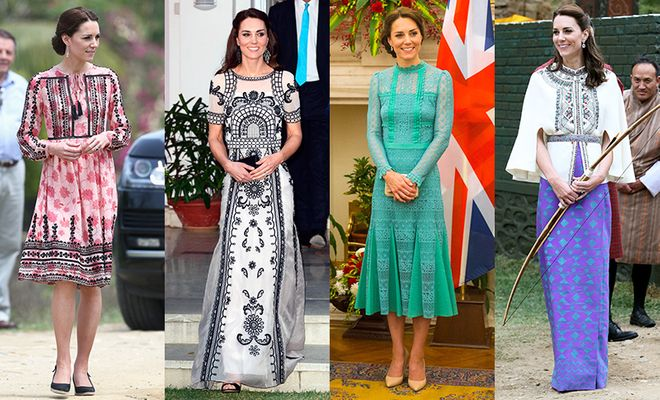 Kate Middleton | Looks na Índia