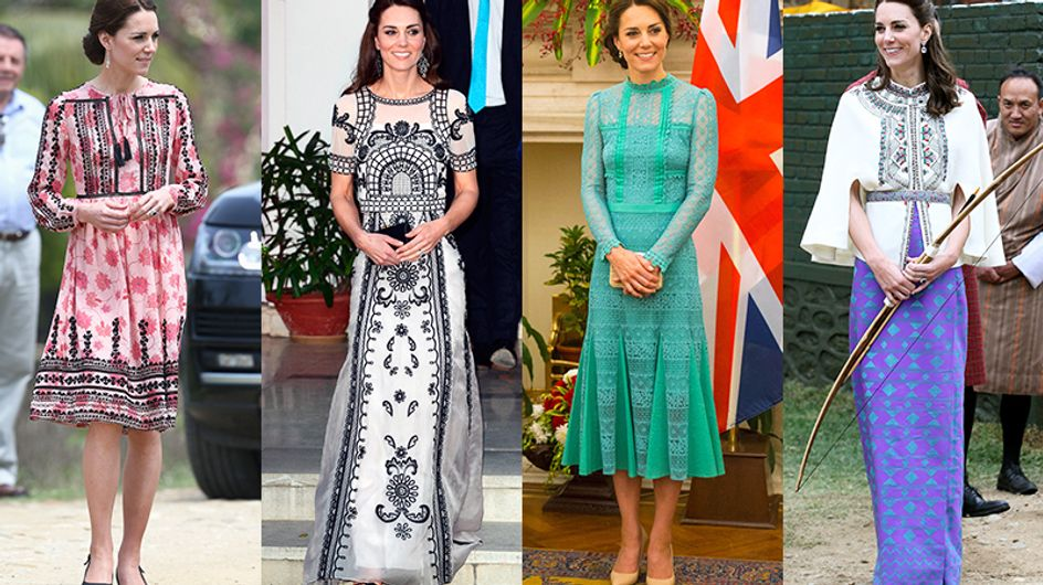 16 looks *deusos* que Kate Middleton usou na Índia – e queremos copiar já!