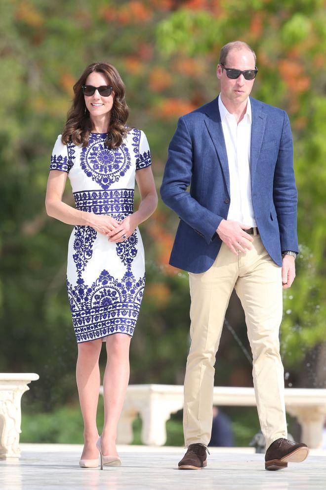 Kate Middleton en avril 2016