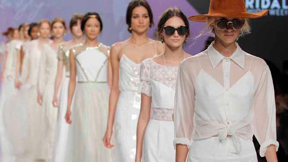 Barcelona Bridal Week: tendencias en vestidos de novia 2017