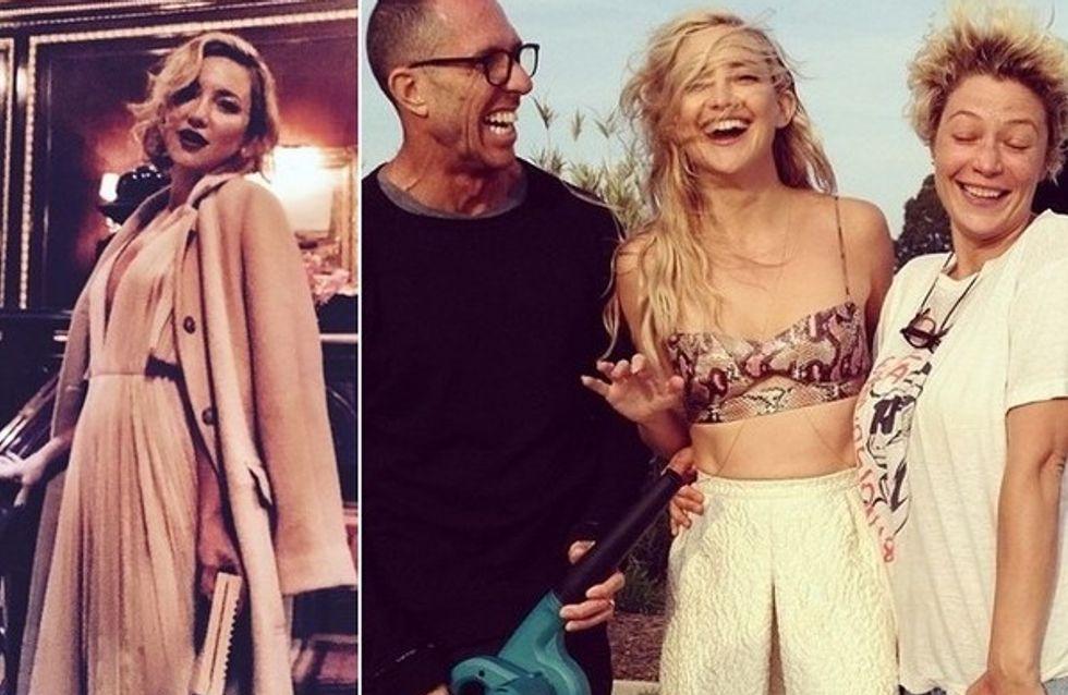 Os melhores cliques do Instagram de Kate Hudson