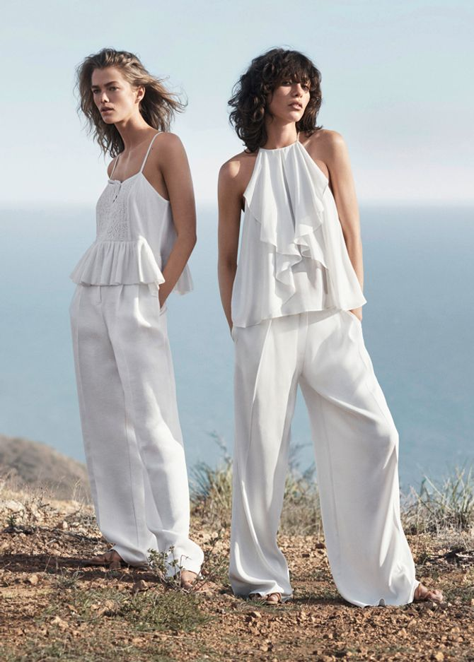 Pantaloni bianchi estate 2016: eleganti o jeans?