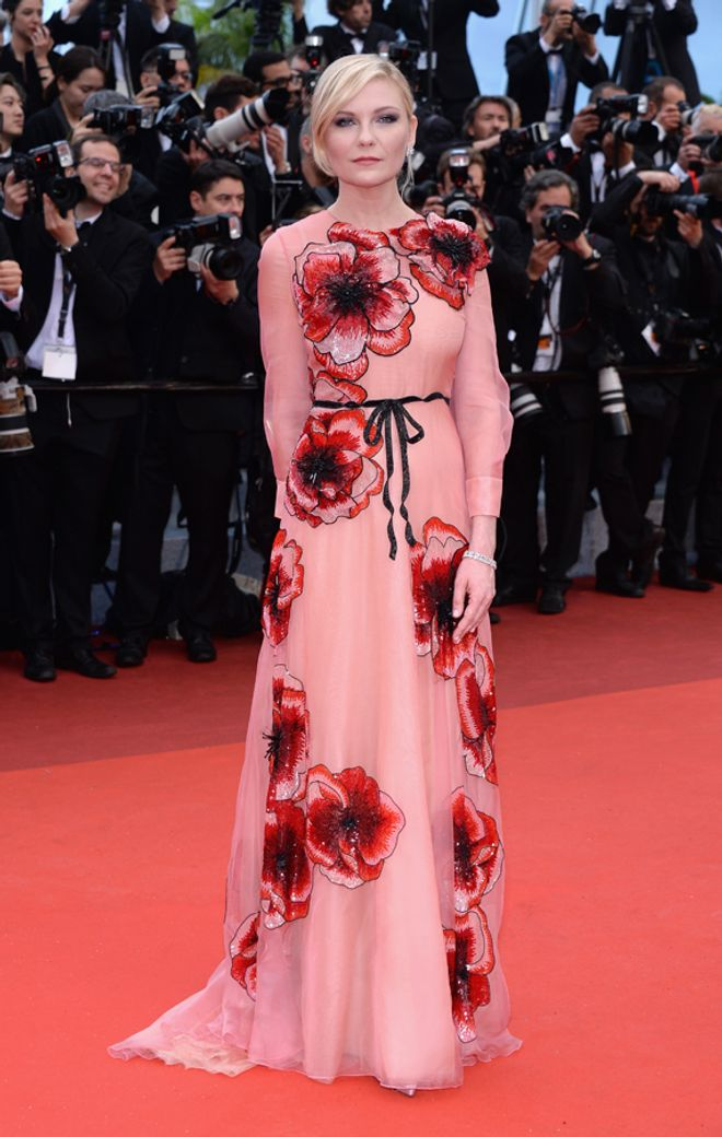 Red carpet Cannes 2016: i look delle star tutti da guardare - Kirsten Dunst