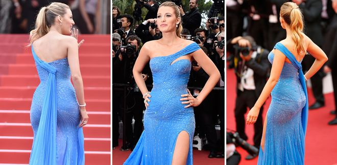 Blake Lively: le foto dell'attrice incinta sul red carpet