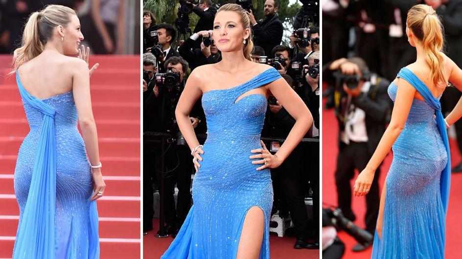 Blake Lively, incinta, sfoggia con orgoglio i chili in più sul red carpet!