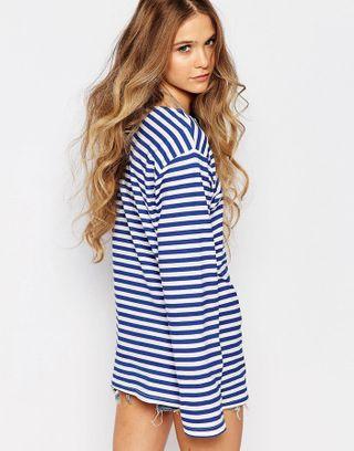 Maglie a righe: l'abbigliamento marinaro dell'estate 2016 - Maglia a righe Reclaimed Vintage estate 2016
