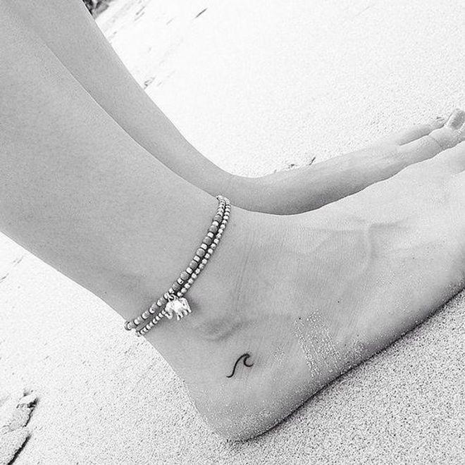 Tatuagem no pé