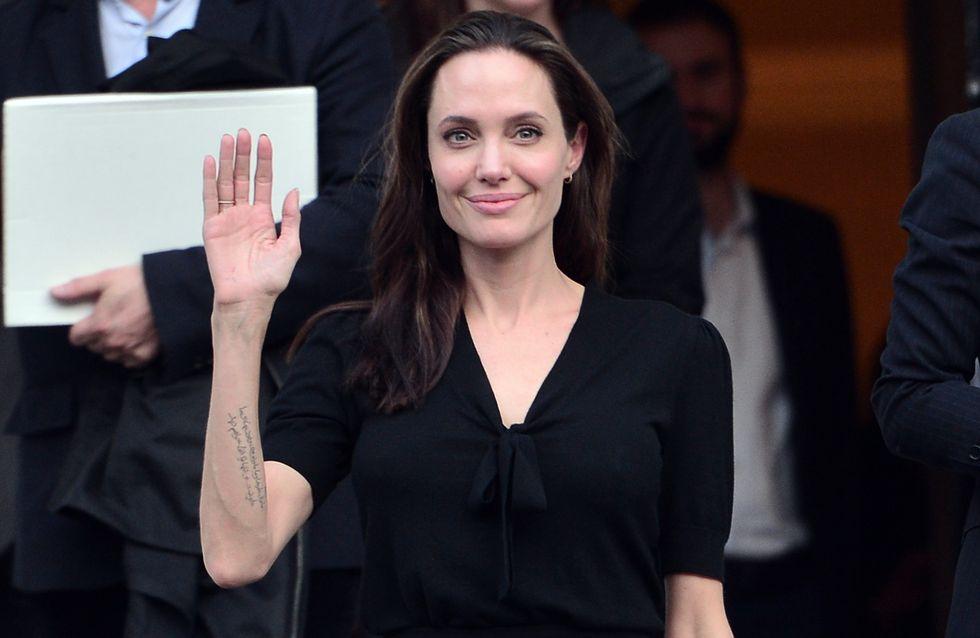 Angelina Jolie, símbolo de elegancia y solidaridad