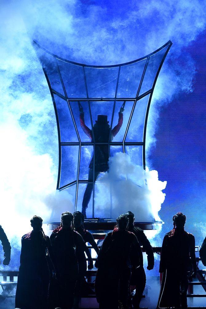 Britney alla cerimonia di apertura dei Billboard Music Awards