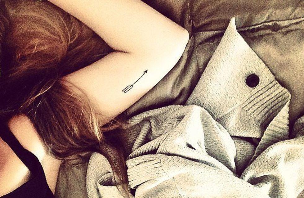 Tatuajes de flechas: ¡encuentra tu camino!