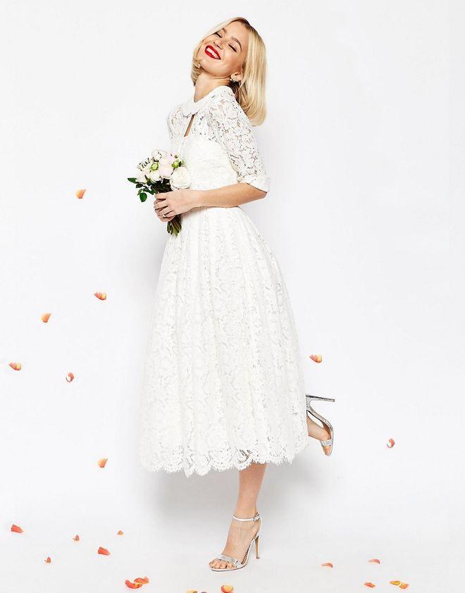 Kurze Brautkleider: Günstig, schick und traumhaft schön