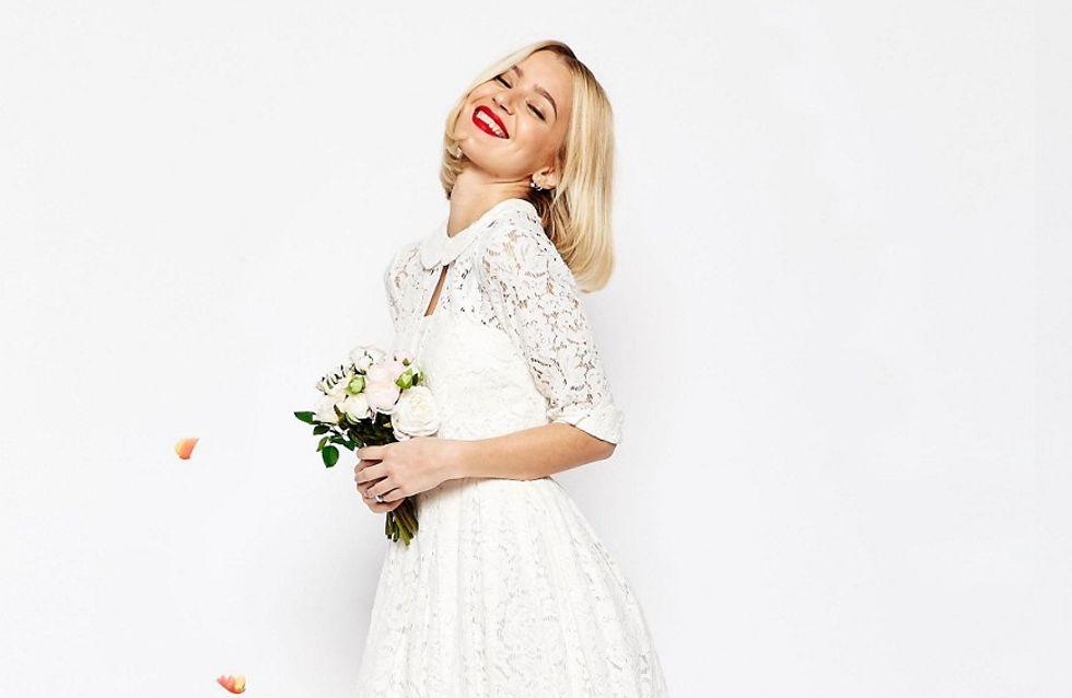 Günstig und wunderschön: 20 kurze Brautkleider zum Verlieben