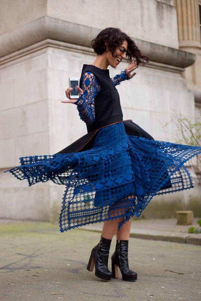 Street style con vestidos de verano