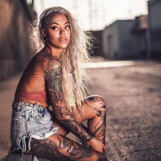 Tatuagem em pele negra
