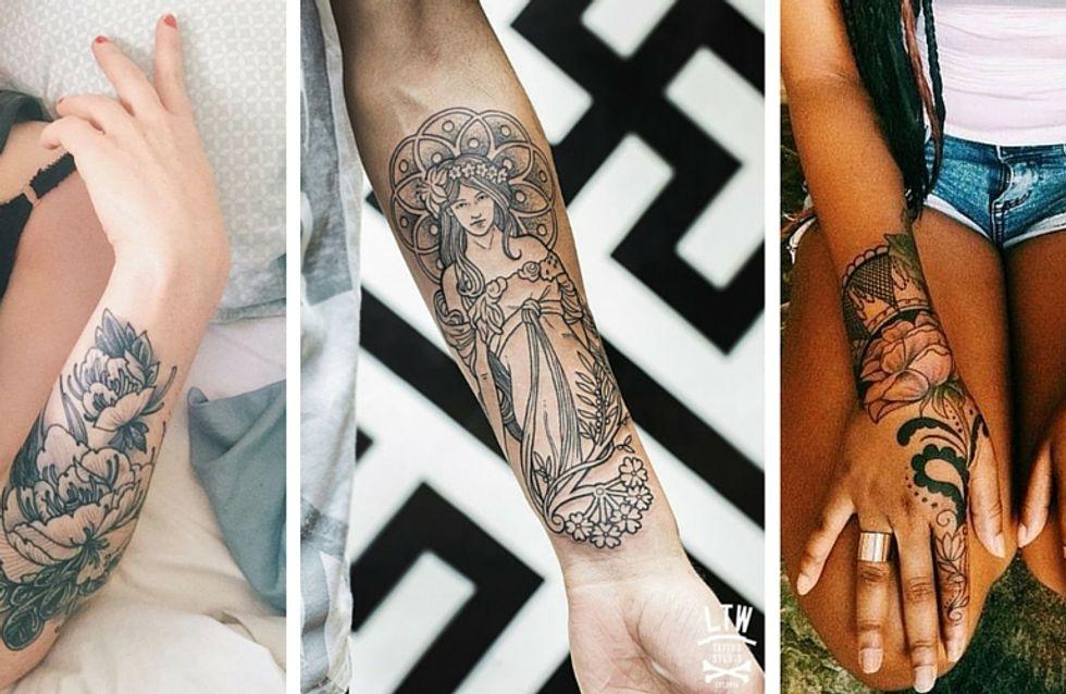 30 jolis tatouages pour mettre ses bras en valeur