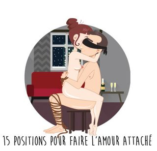 15 positions pour faire l'amour attaché