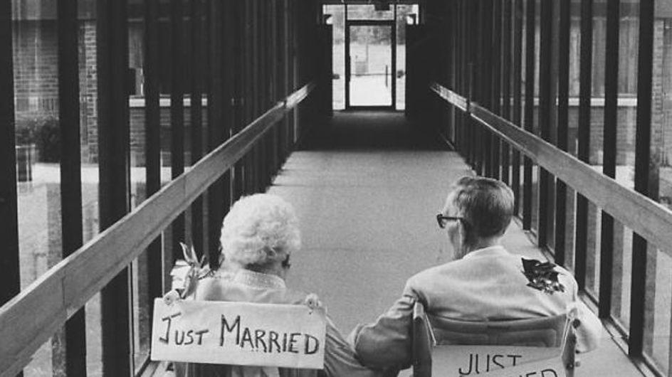 """Quando sono i vecchini a dire """"lo voglio"""": le foto che vi scioglieranno il cuore"""